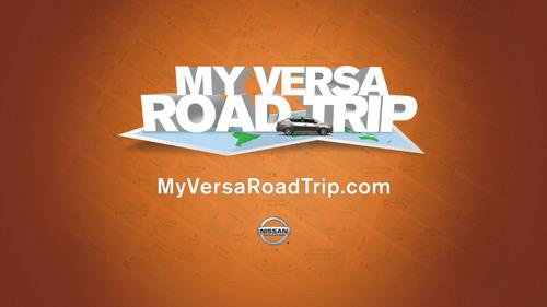 Nissan Launches 'My Versa Road Trip' Social Media Program for All-New 2012 Nissan Versa Sedan