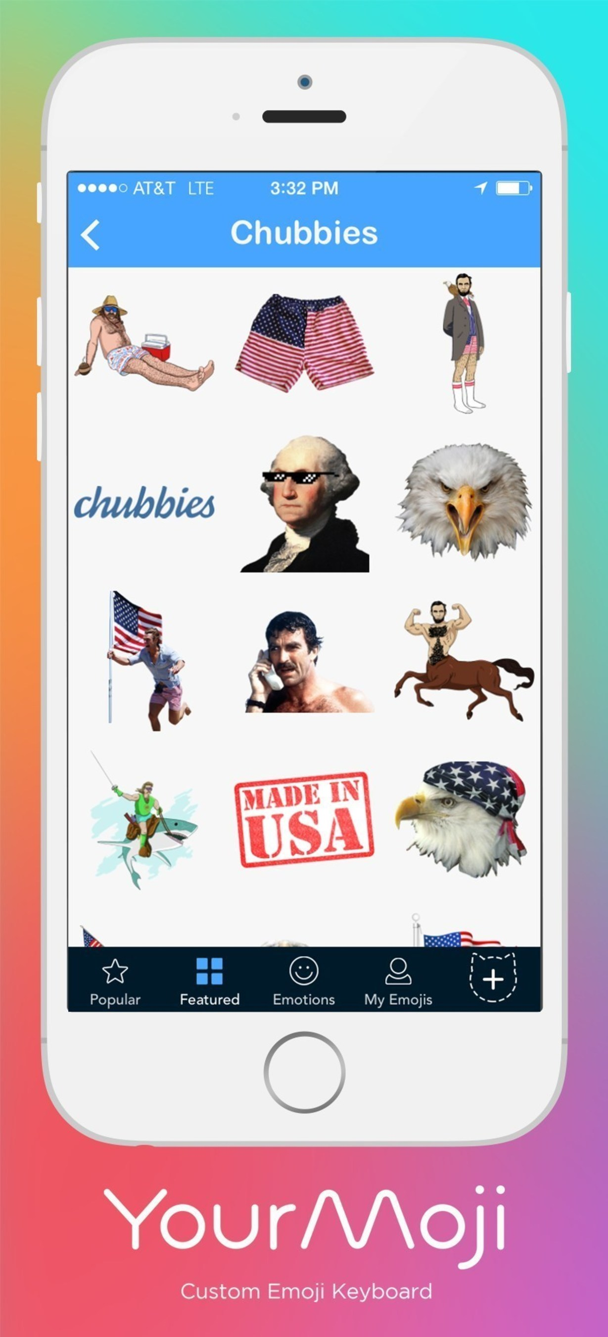 Get emojis from your favorite brands with YourMoji!