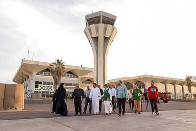 البرنامج السعودي لتنمية وإعادة إعمار اليمن يدرس احتياجات مطار عدن الدولي