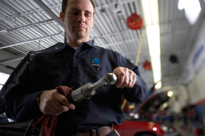 Mopar Says Practice Preventive Maintenance.  (PRNewsFoto/Chrysler Group LLC)