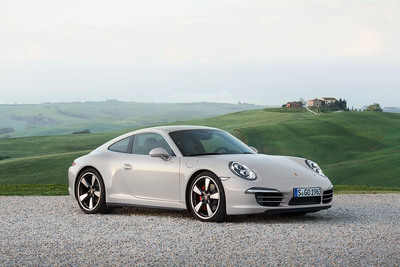 Porsche celebrates 50 years of the 911 with exclusive limited edition model.  (PRNewsFoto/Porsche Cars North America, Inc.)