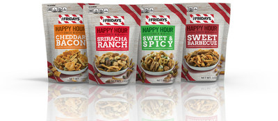 Inventure Foods expands its licensed TGI Fridays snack line into growing pub mix category