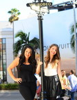 Millennial Matchmakers, Alessandra Conti and Cristina Conti of Matching Up, Beverly Hills (PRNewsFoto/Matching Up)