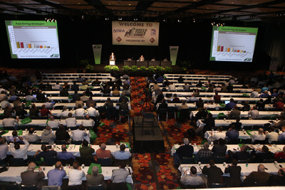 The Green Truck Summit, the vocational truck industry's premier clean vehicle technology conference, is held March 4-5 in conjunction with The Work Truck Show(R) 2014. Educational sessions cover a variety of topics, including natural gas, other alternative fuels and advanced vehicle technology.  (PRNewsFoto/NTEA)