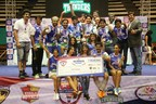 Tollywood Thunders Winners of Celebrity Badminton League Season 1 (PRNewsFoto/Celebrity Badminton League)