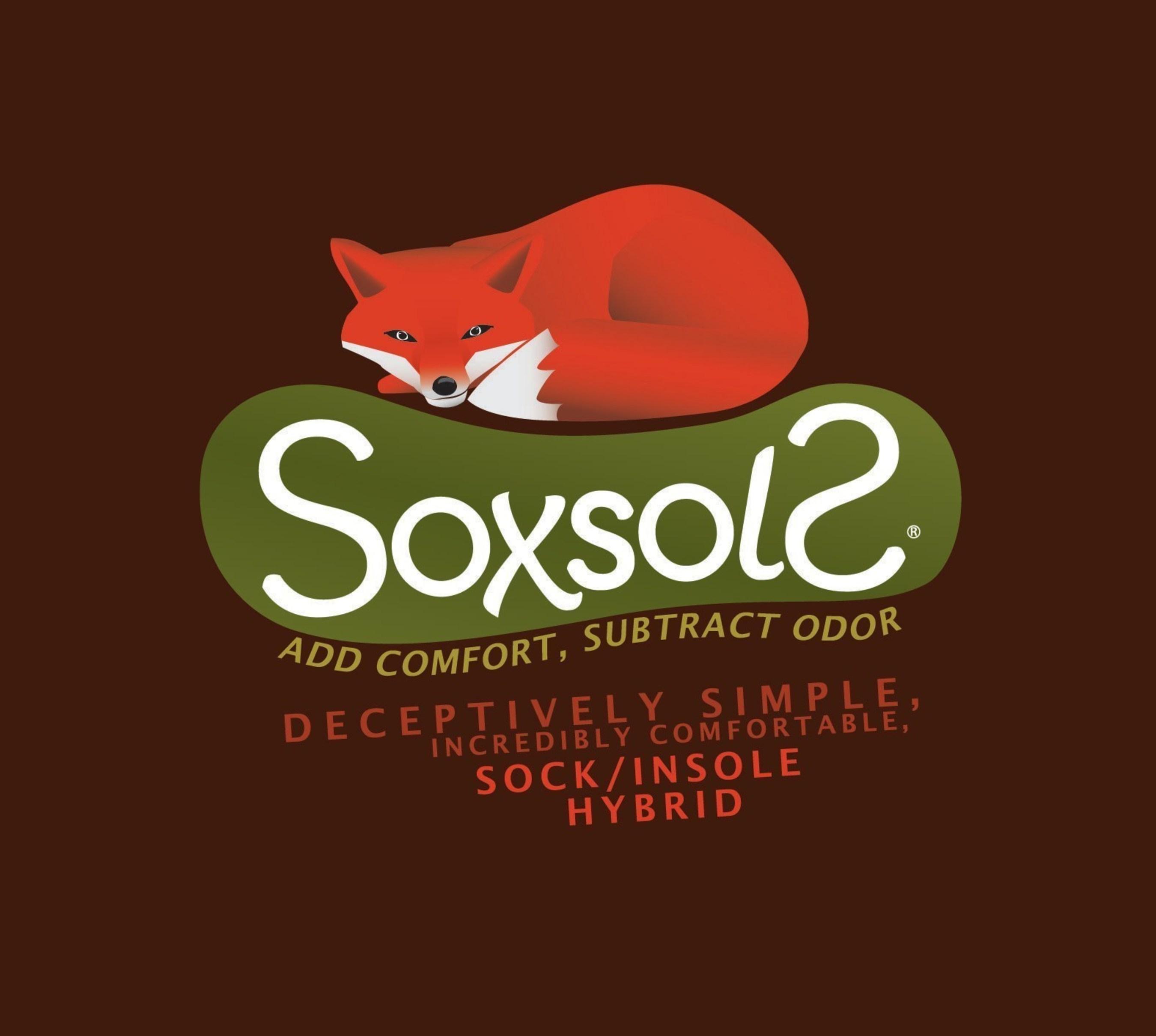 SoxsolS Washable Shoe Inserts Logo