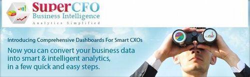SuperCFO BI: Convert your business data in smart & intelligent analytics (PRNewsFoto/SuperCFO)