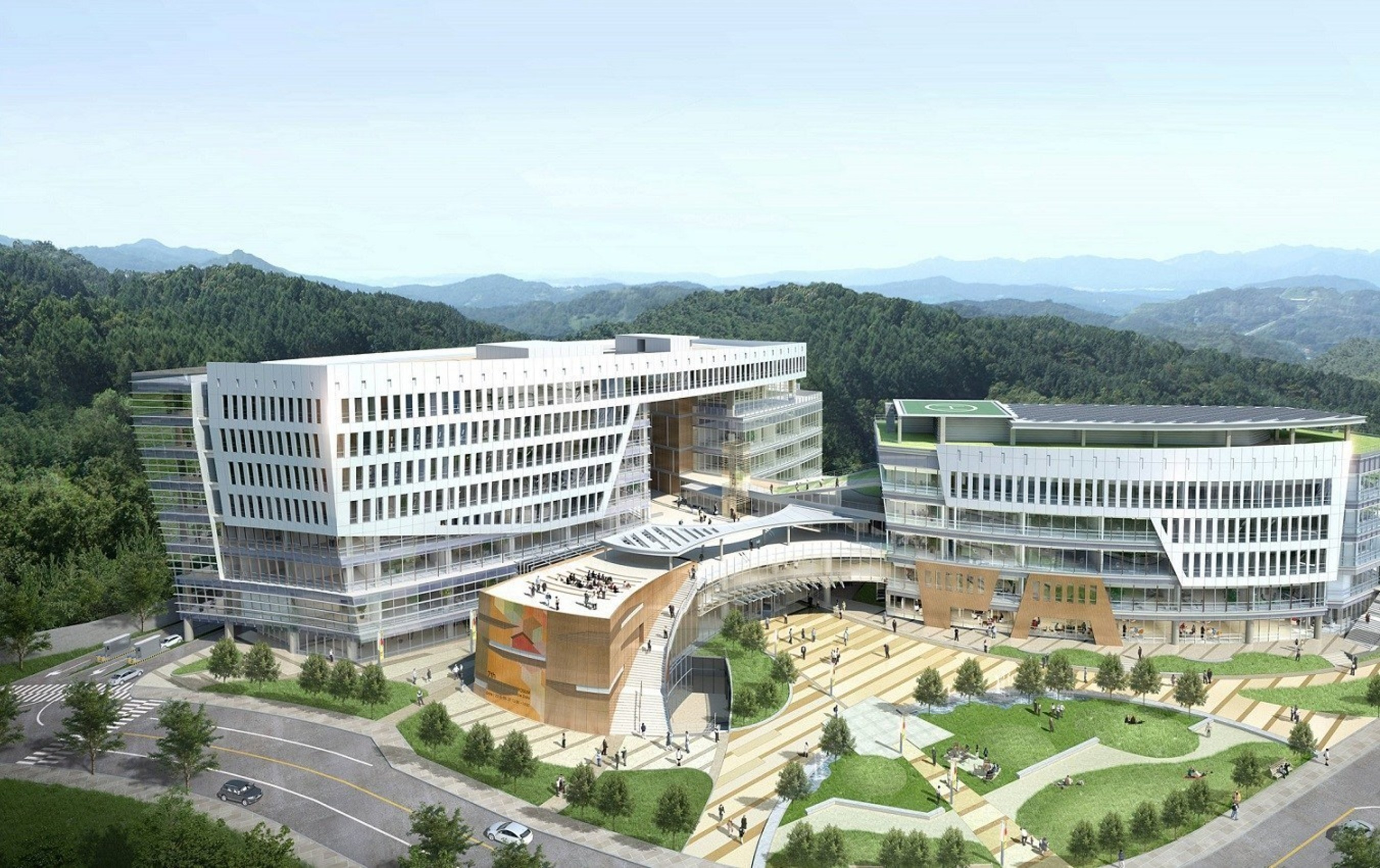 Pangyo Global Startup Campus in Korea