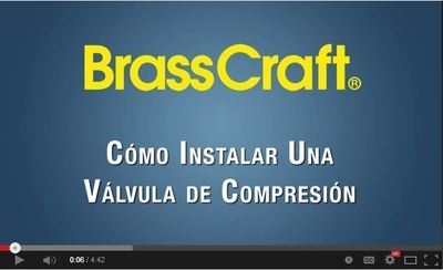 BrassCraft Manufacturing, a leading manufacturer of plumbing products, is releasing Spanish language versions of its most popular 'how-to' and product videos which cover common plumbing installations and highlight the unique features and benefits of BrassCraft(R) products. (PRNewsFoto/BrassCraft Manufacturing)
