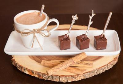 Paleta Fria de Choco-Canela en Leche Caliente