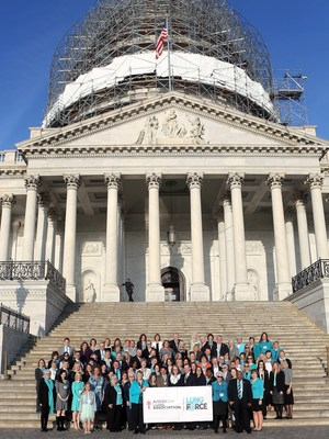 LUNG FORCE Heroes from every state gather at Capitol Hill for the American Lung Association's LUNG FORCE Advocacy Day.