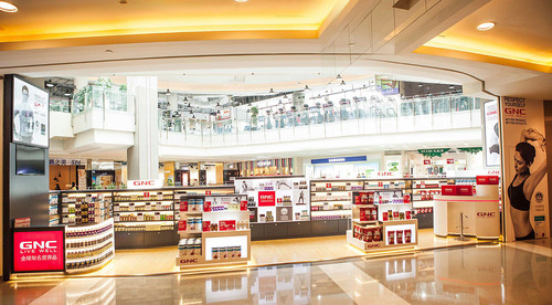 Grand Opening of first GNC stand-alone store in Shanghai at Raffles City, one of Shanghai's prime retail ...
