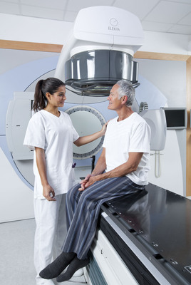 The Agility technology system for cancer treatment. Adventist Medical Center is proud to offer this new technology that delivers radiation therapy with extreme accuracy.  (PRNewsFoto/Adventist Medical Center)