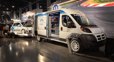 20 customized Chrysler Group LLC show vehicles on exhibit at 2013 SEMA Show.  (PRNewsFoto/Chrysler Group LLC)