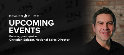Christian Salazar, National Sales Director at DealerFire, to present at Fall 2014 industry conferences (PRNewsFoto/DealerFire)