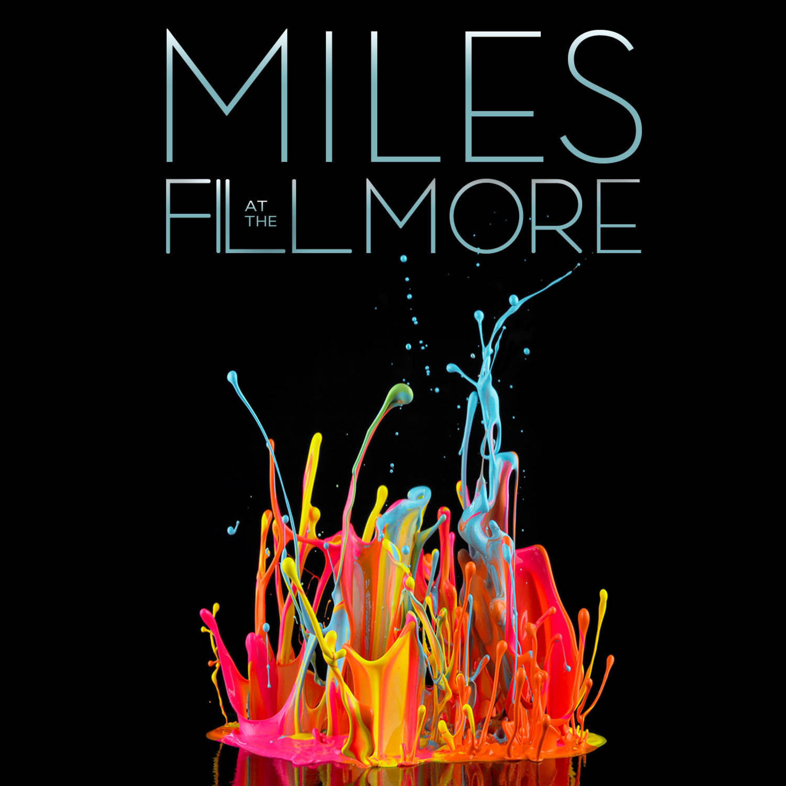 """""""MILES AT THE FILLMORE - Miles Davis 1970: The Bootleg Series Vol. 3"""" to be released March 25, 2014. (PRNewsFoto/Legacy Recordings) (PRNewsFoto/LEGACY RECORDINGS)"""