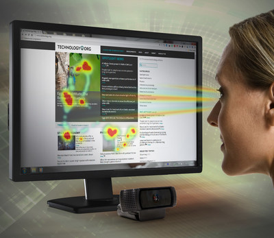 SentiGaze SDK enables the use of ordinary webcams for sophisticated eye movement tracking and analysis through generation of heatmaps that can gauge the effectiveness of website or online advertising content.