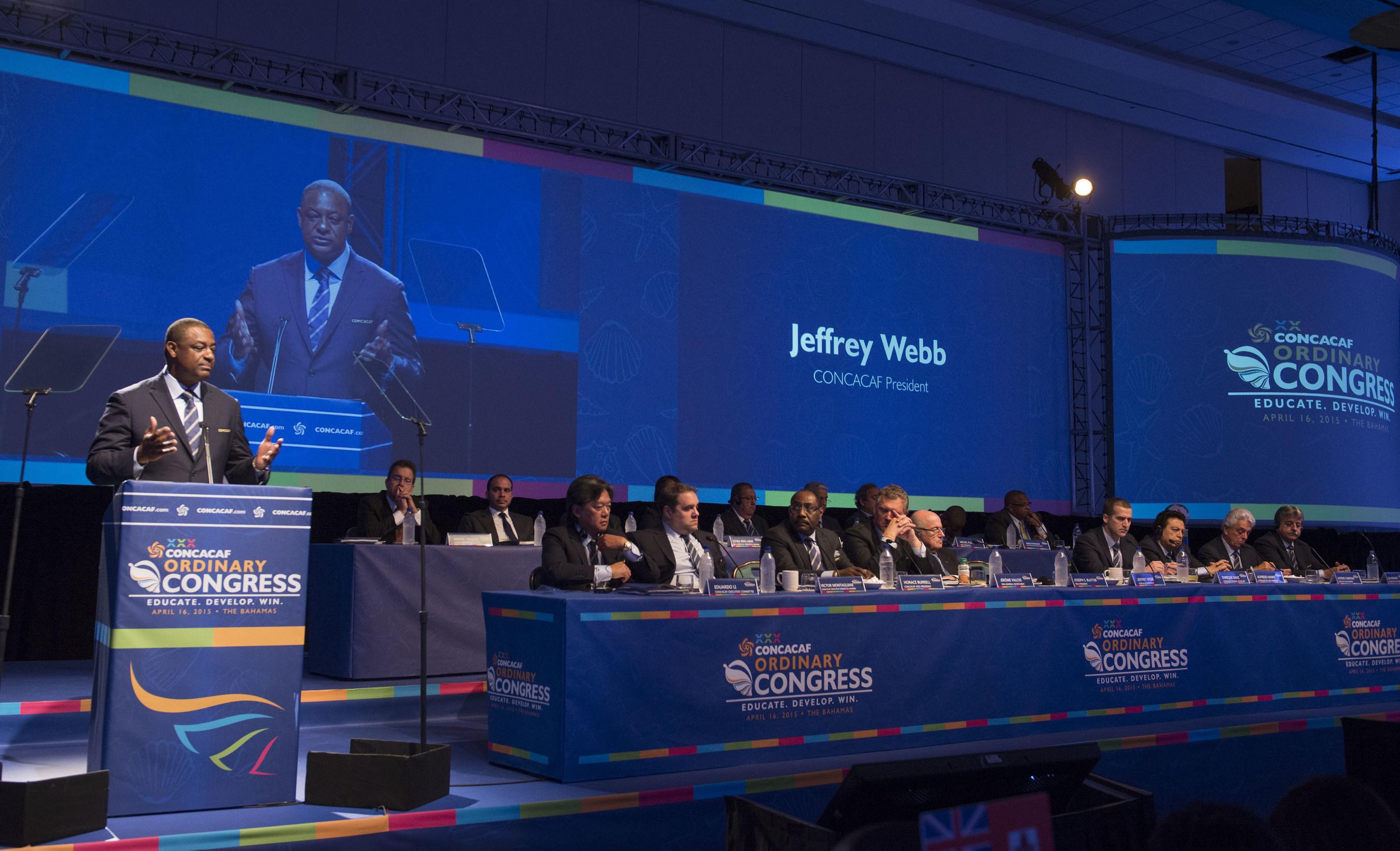 Obchody 30 kongresu zwyczajnego organizacji CONCACAF
