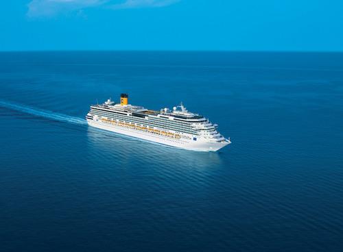 Costa Serena will join Carnival Corporation's Costa Atlantica, Costa Victoria and Sapphire Princess ships ...