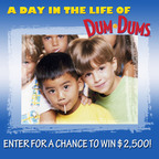 What role have Dum Dums played in your life? Show us by submitting a photo of Dum Dum Pops in your life and you could win $2,500 or a Nikon Coolpix Digital Camera or other neat prizes. Visit www.lifeofdumdums.com for more information.  (PRNewsFoto/Spangler Candy)
