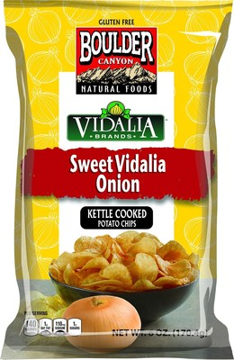 Inventure Foods, Inc. partners with Vidalia Brands(R) Inc. to develop the first potato chip seasoning made from the legendary sweet onion