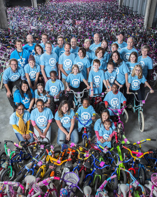 Free Bikes 4 Kidz and Mall of America team up to break the Guinness World Record for the most bicycles donated to charity in 24 hours.