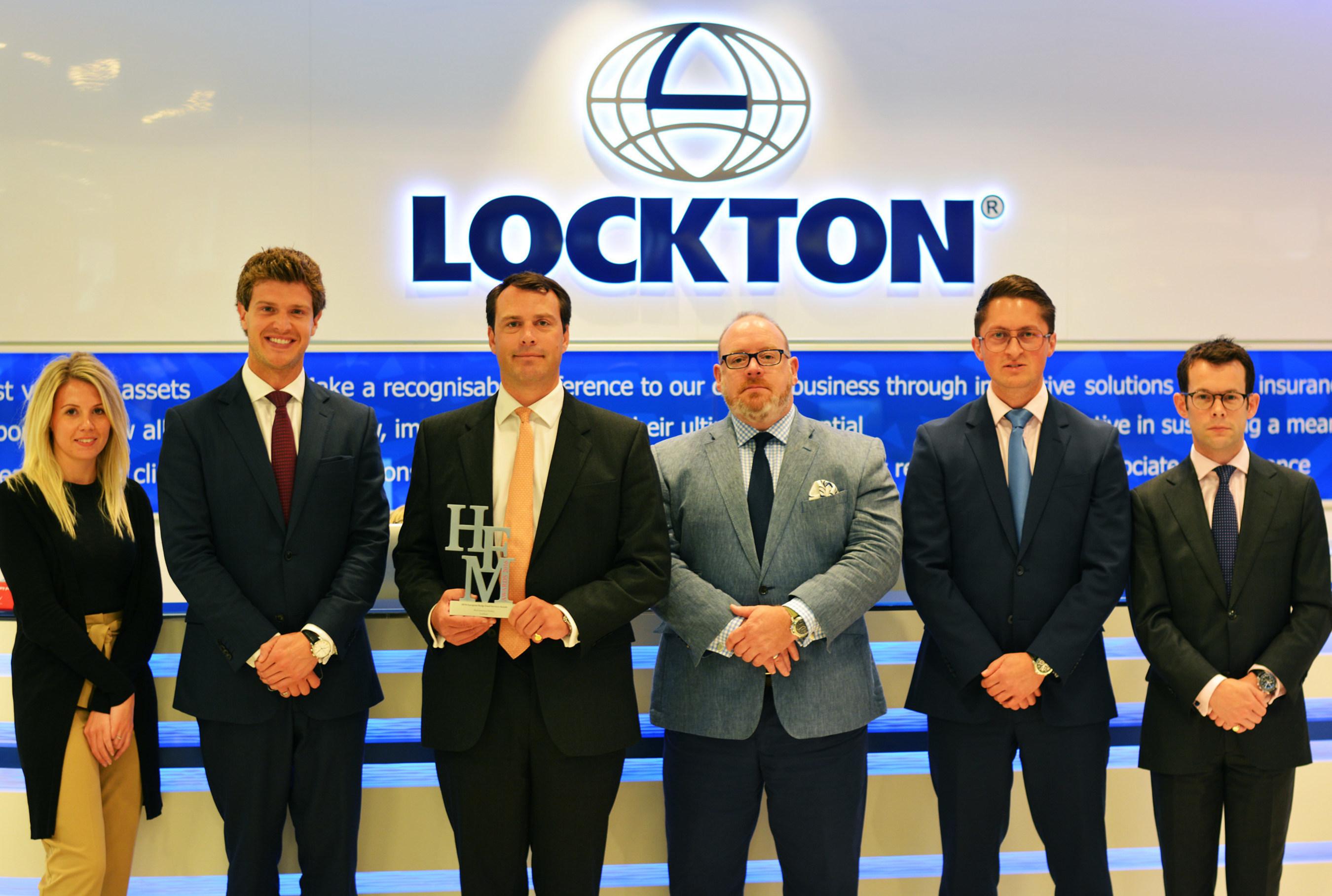 Lockton S London Based Asset Management Team Named Best Insurance