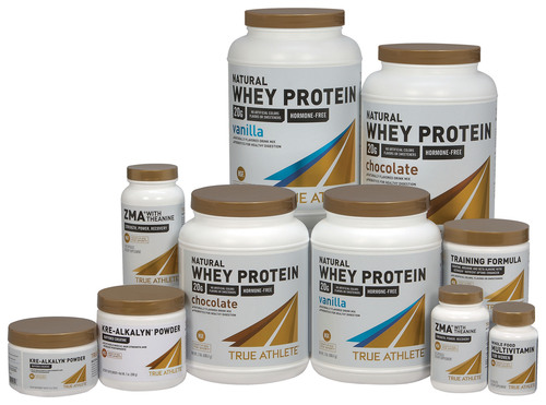 Vitamin Shoppe Launches TRUE ATHLETE™ Line of Sports Nutrition Products