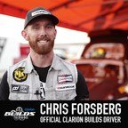 Clarion Builds - Chris Forsberg Announced As Official Driver