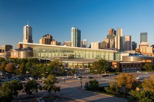Colorado Convention Center, Downtown Denver. Photo credit Scott Dressel Martin (PRNewsFoto/VISIT DENVER, The Convention ...)