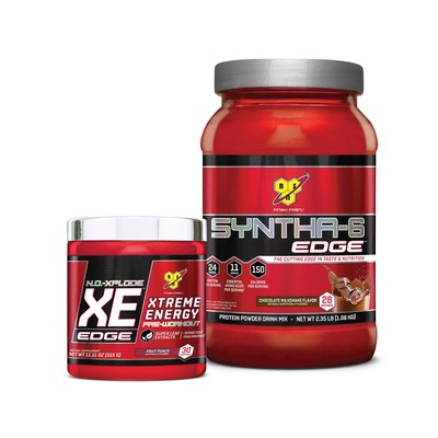 New BSN(R) EDGE SYNTHA-6 EDGE(R) and N.O. XPLODE XE(TM) EDGE contain a high level of cutting edge ingredients to propel next-level performance