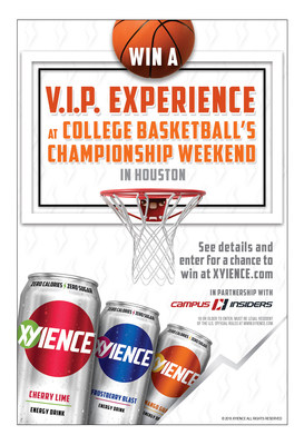 XYIENCE Energy Drink Announces Partnership with Campus Insiders Including National Sweepstakes and Original Content Featuring Seth Davis