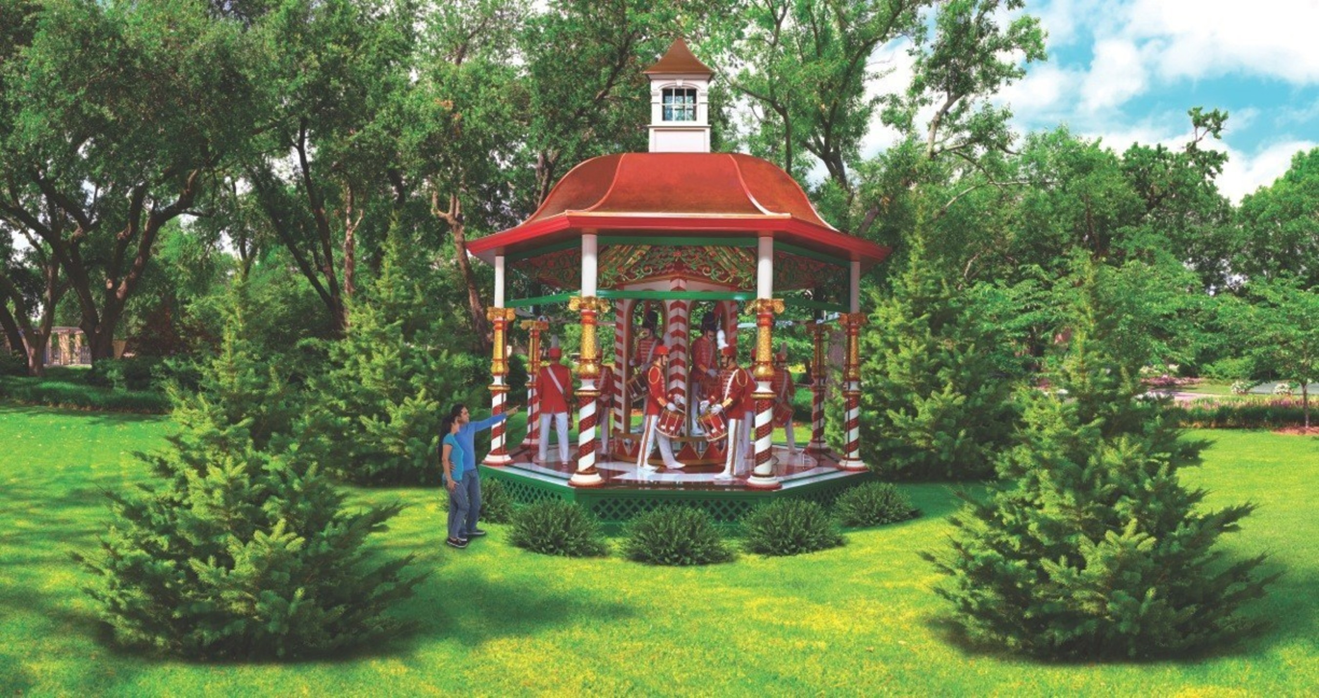 Dallas Arboretum And Botanical Garden Debuts The 12 Days Of