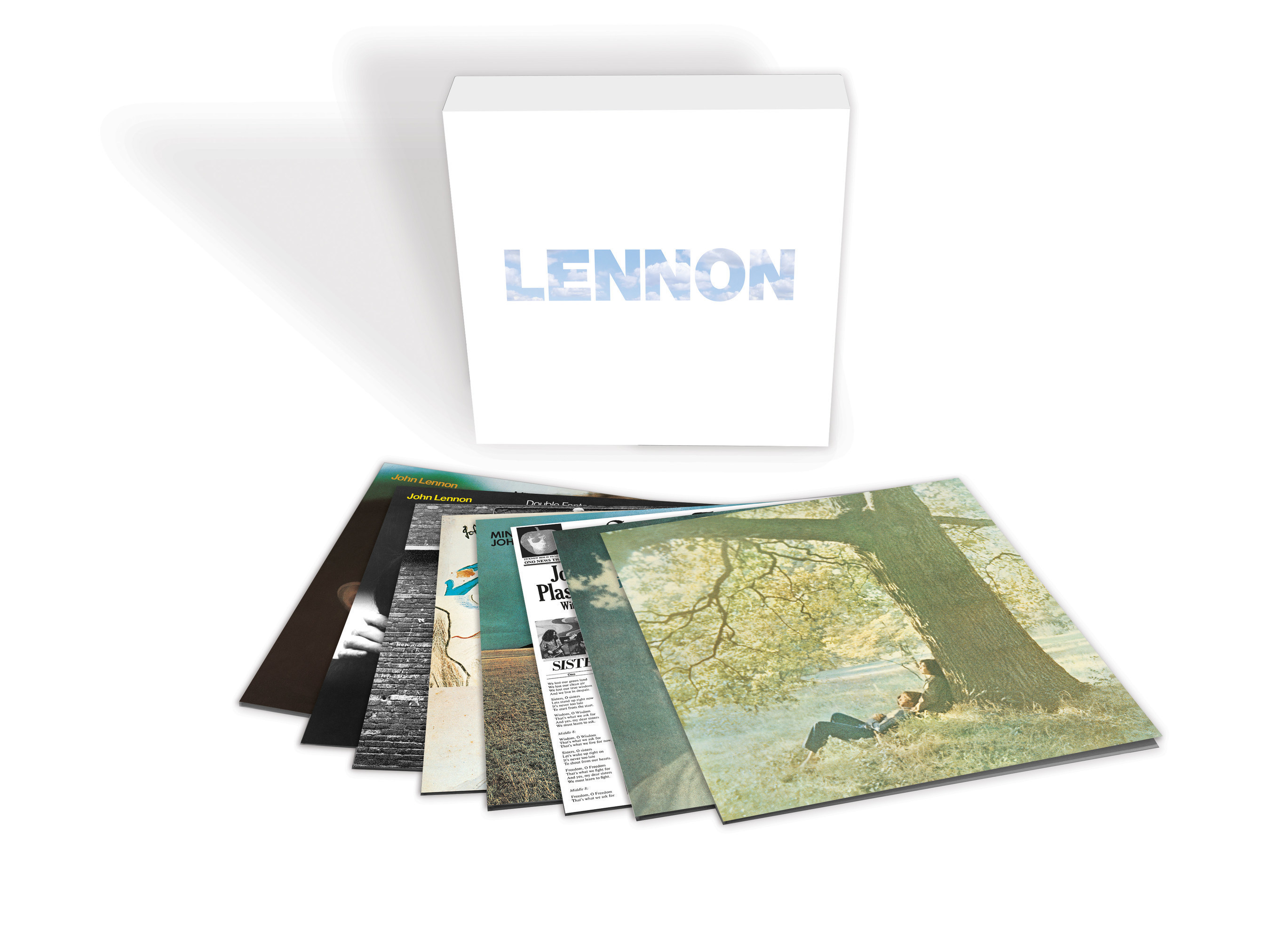 John Lennon's eight solo studio albums, remastered from their original analogue masters, have been newly cut to vinyl from 96k digital files for 'Lennon,' a new 9LP boxed collection on heavyweight, 180-gram vinyl with faithfully replicated original album art. To be released June 9 by Capitol/UMe, the collection's albums are all out-of-print worldwide on vinyl, with the exception of previous LP remasters of 'Imagine' and 'Rock 'n' Roll' which are in print in the United States.