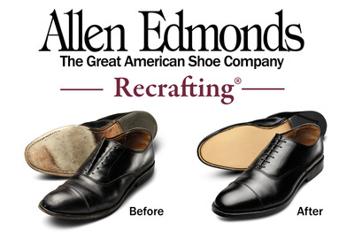 Allen Edmonds Recrafting® Sale March 14 - April 3.