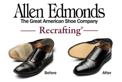 Allen Edmonds Recrafting® Sale March 14 - April 3.