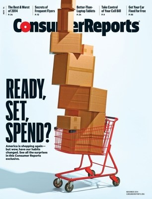 Consumer Reports Magazine Gets A Makeover (PRNewsFoto/Consumer Reports)