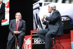 RE/MAX, LLC CEO Dave Liniger talks with Jay Leno at R4 Convention. Photo by Stones Throw Images.