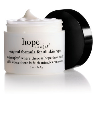 philosophy announces commemorative, limited-edition hope in a jar