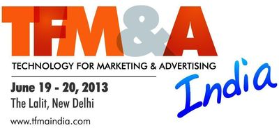 TFM&A INDIA, JUNE 2013 Logo (PRNewsFoto/UBM India Pvt Ltd)