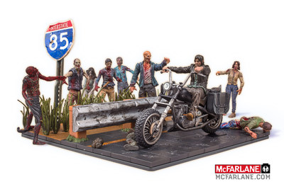 McFarlane Toys Unveils Revolutionary Brick Building Sets for AMCs The Walking Dead