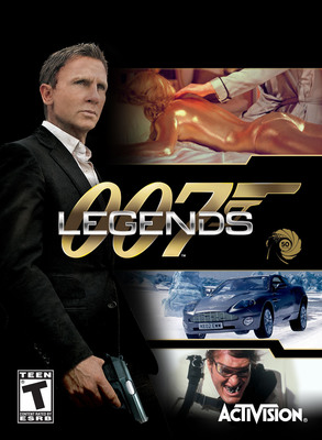 Celebrate 50 Years Of James Bond With Activision Publishing's 007(TM) Legends Video Game - Available Today