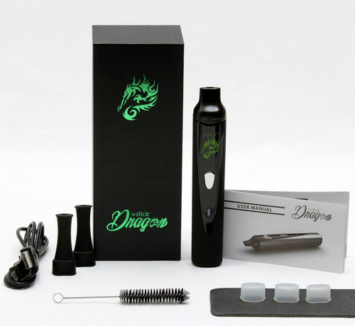 V.Stick Dragon Portable Herbal Vaporizer vstick.net - dry herb vaporizer with adjustable temperature settings (PRNewsFoto/Quality Products Distribution)
