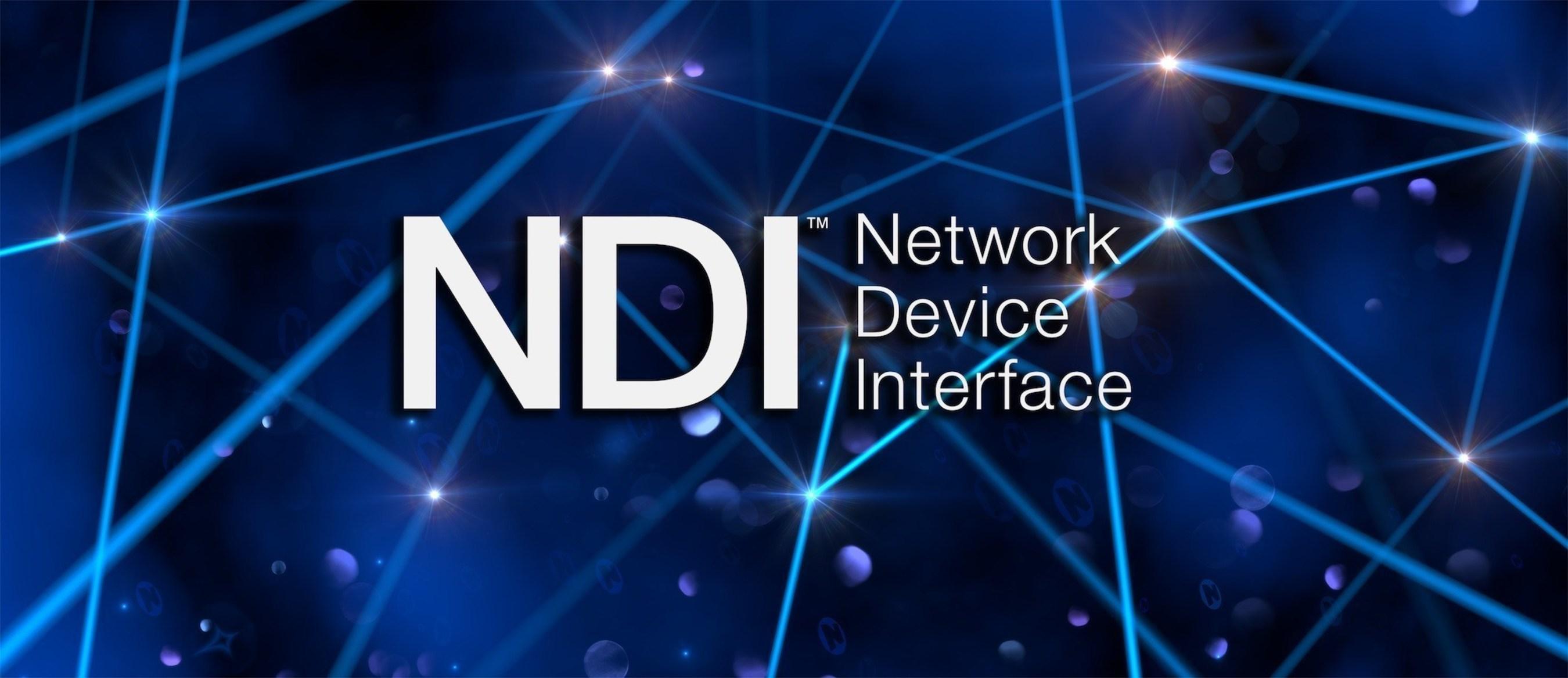 Newtek Network Device Interface (NDI) for IP-based workflows.