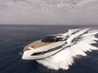 Astondoa's 655 Coupe, Express Yacht - This express yacht utilizes every inch of outdoor space with sun pads and seating and brings the outside in, through huge windows, filling the interior with natural light. Cristiano Gatto's interior designs make the yacht modern, clean and welcoming.