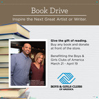 Michaels Boys and Girls Clubs Book Drive. (PRNewsFoto/Michaels Stores, Inc.)