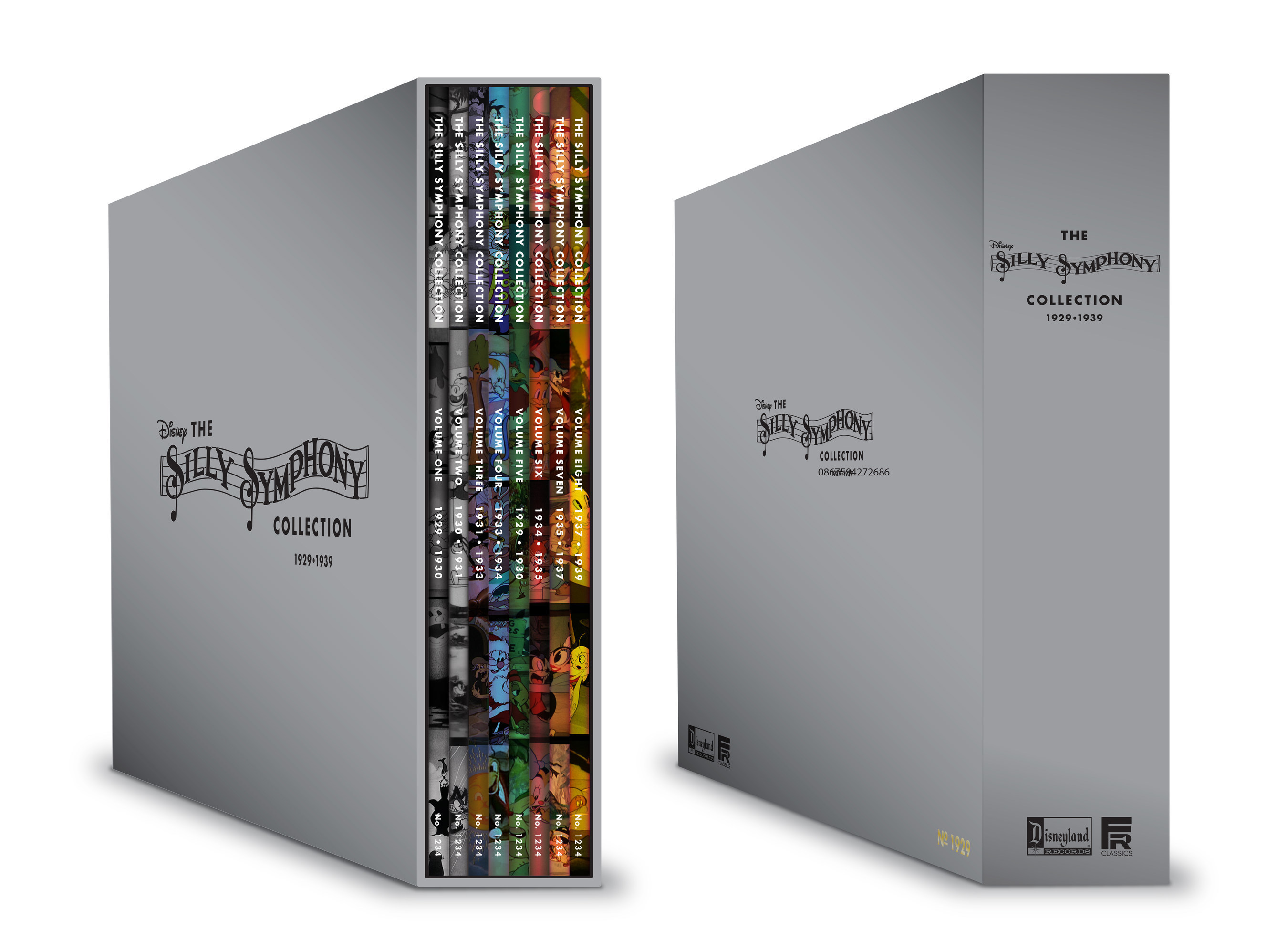 Walt Disney Records And Fairfax Classics Announce Details For The Silly Symphony Collection Box Set