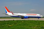 Transaero's Boeing 737-800 in new livery