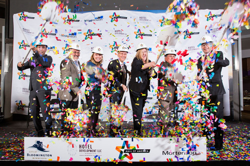 Mall of America breaks ground for $325 million expansion project adding 750 thousand square feet. Pictured left  ...