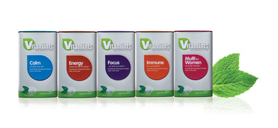 First-of-their-Kind Vitamints Play Double-Duty: Vitamin and Mineral Supplements in a Breath Mint.